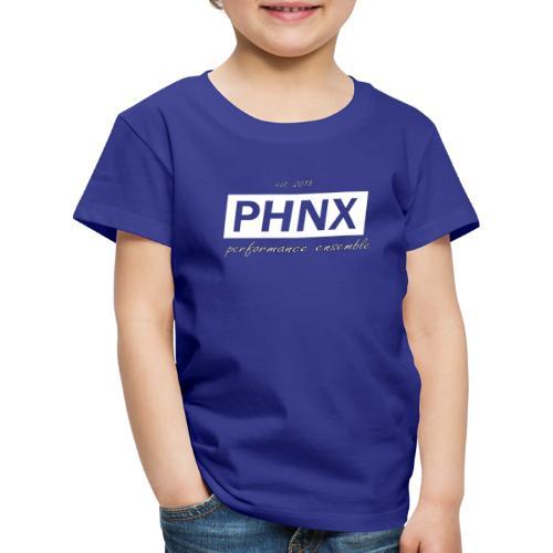 PHNX /#white/ - Kinder Premium T-Shirt