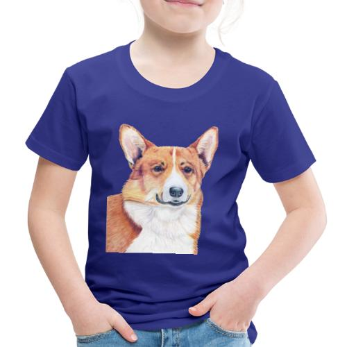 welsh corgi pembroke - Børne premium T-shirt