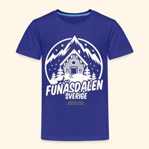 Funäsdalen Sverige Ski Resort T Shirt Design - Kinder Premium T-Shirt