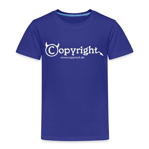 logo spreadshirt 2 - Kinder Premium T-Shirt