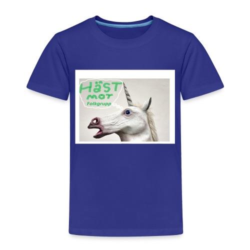 haest mot folkgrupp - Premium-T-shirt barn
