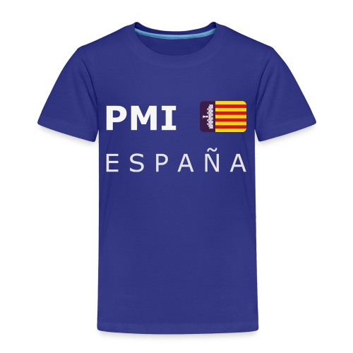 PMI MF ESPAÑA white-lettered 400 dpi - Kids' Premium T-Shirt