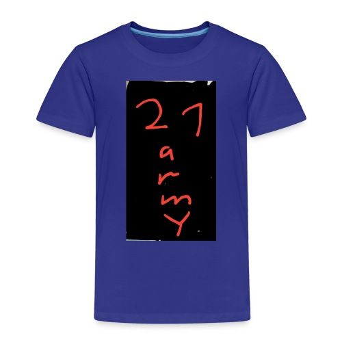 #21 army - Kinder Premium T-Shirt