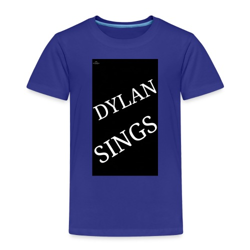 Dylan sings - Kids' Premium T-Shirt