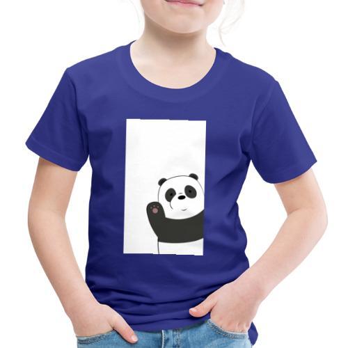 We bare bears panda design - Kinderen Premium T-shirt
