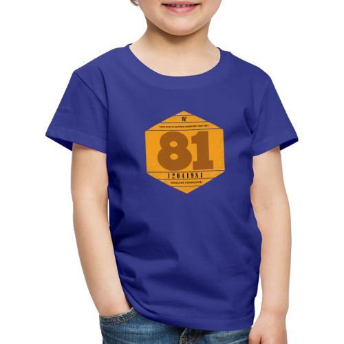 Vignette automobile 1981 - T-shirt Premium Enfant