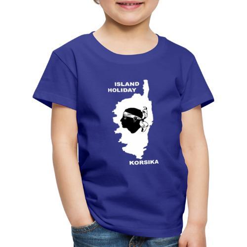 Korsika Insel Urlaub Holiday - Kinder Premium T-Shirt