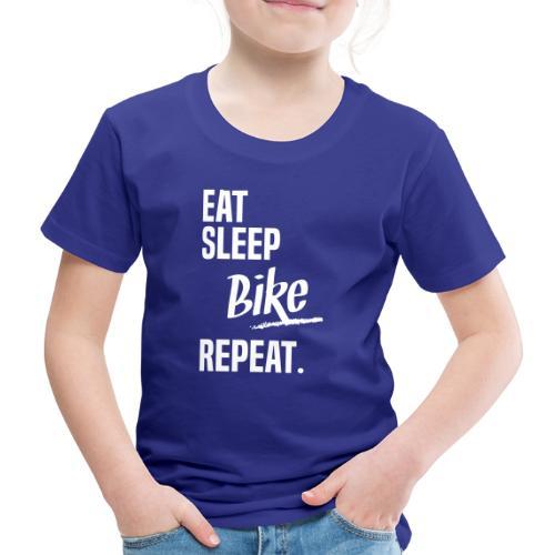 EAT SLEEP BIKE - T-shirt Premium Enfant