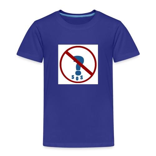 Logo SOS Mystères - T-shirt Premium Enfant