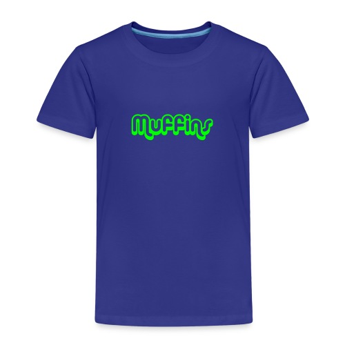 Muffins Text - Premium-T-shirt barn