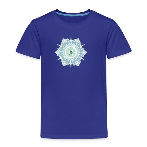Weihnachtlicher Stern - Kinder Premium T-Shirt