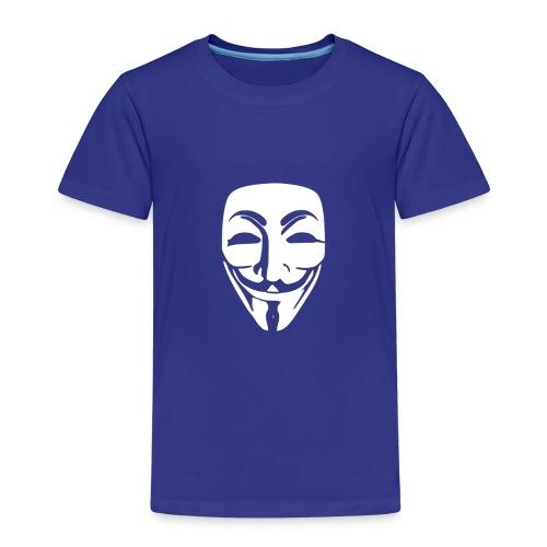 anonymous white mask - Kids' Premium T-Shirt