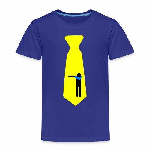 Dab Cravatta Gangsta Yellow - Maglietta Premium per bambini