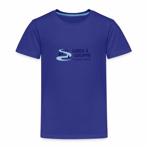 Lille logo forside - Børne premium T-shirt