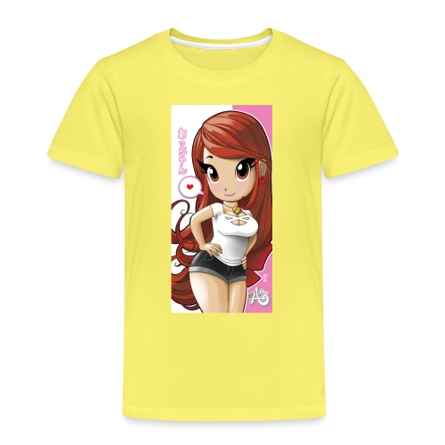 Acchan iphone6cover2 gif - Maglietta Premium per bambini