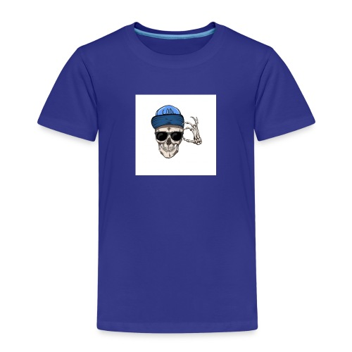 sommersweat panel 56x64 cm totenkopf - Kinder Premium T-Shirt