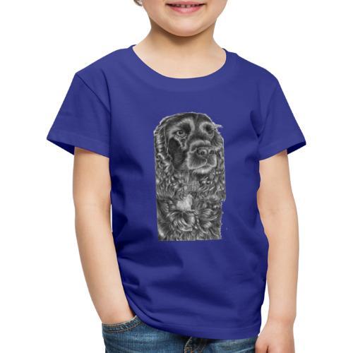 cockerSpaniel black - M - Børne premium T-shirt