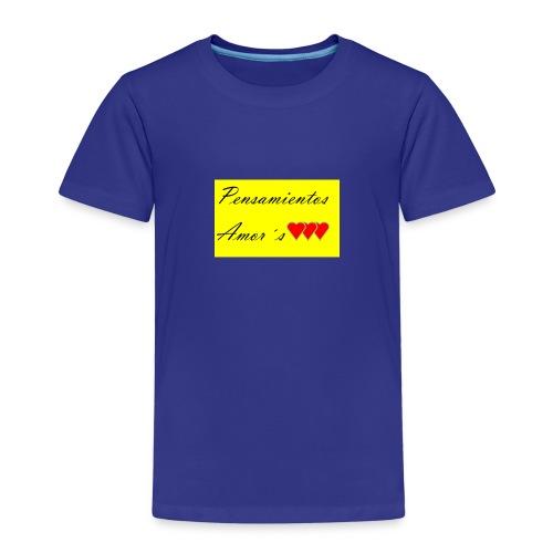 Pensamientos-png - Camiseta premium niño