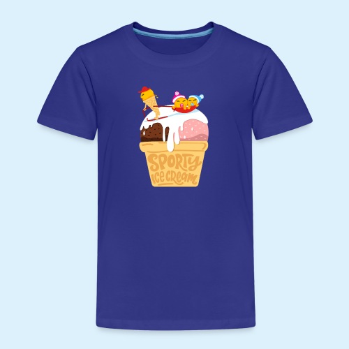 Sporty Ice Cream - Kinder Premium T-Shirt