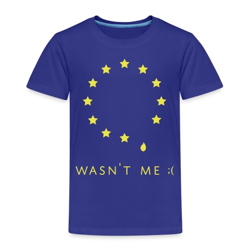 Sad EU - Kids' Premium T-Shirt