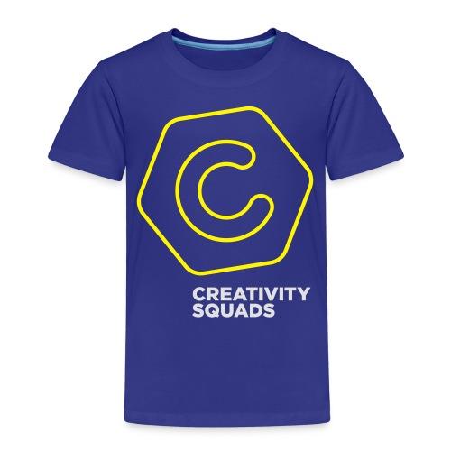 CreativitySquads 002 - Lasten premium t-paita