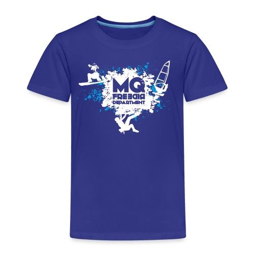 MQFD blau weiss - Kinder Premium T-Shirt
