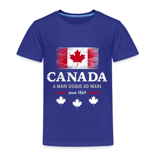Canada Kanada Amerika maple leaf Flagge Fahne - Kids' Premium T-Shirt