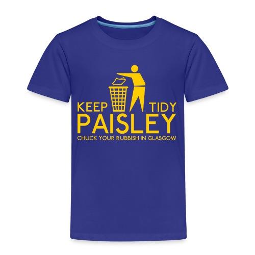 Keep Paisley Tidy - Kids' Premium T-Shirt