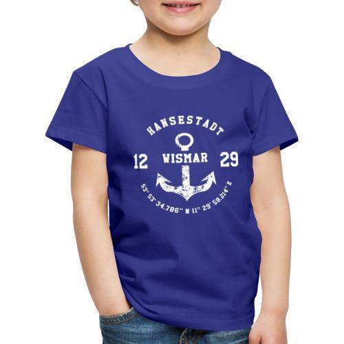 Hansestadt Wismar 1229 - Kinder Premium T-Shirt
