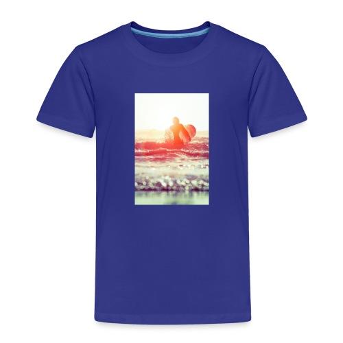 sunset surf jpg - Kids' Premium T-Shirt