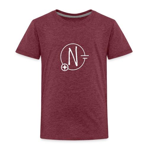 Nerdpol Logo White - Kinder Premium T-Shirt