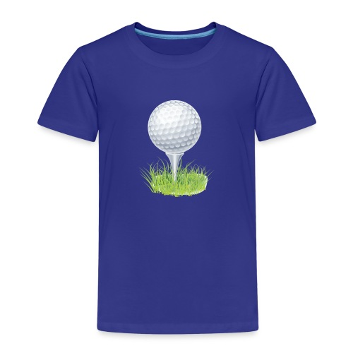 Golf Ball PNG Clipart - Camiseta premium niño