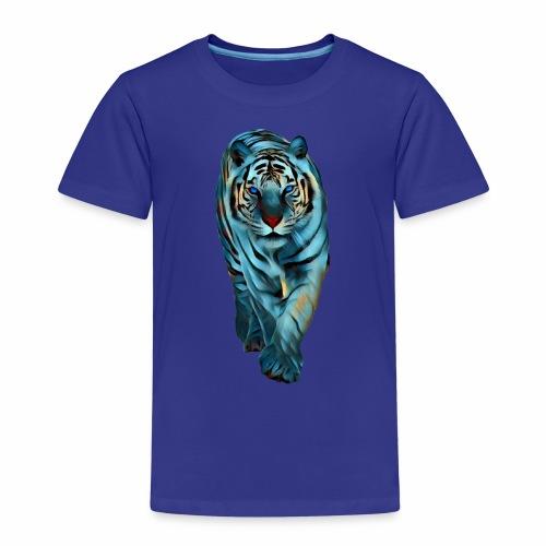 Tigre Caminando MEDIANO - Camiseta premium niño