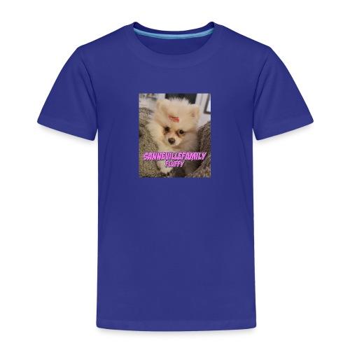 Print med den sødeste SanneVilleFamily Fluffy - Børne premium T-shirt