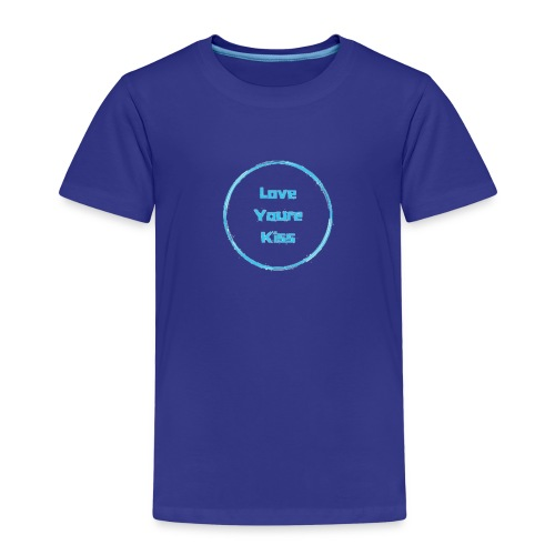 Love youre Kiss - Kinder Premium T-Shirt