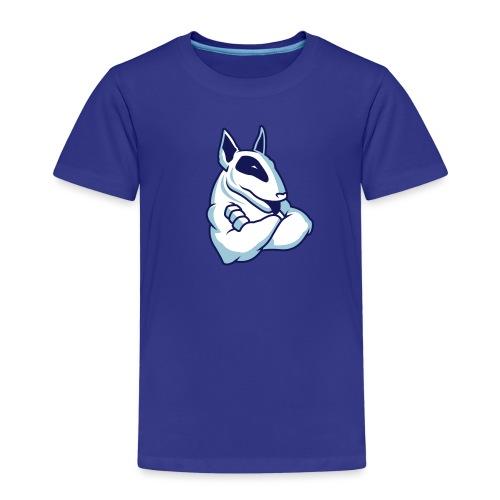 Bullterrier Maskottchen 3c - Kinder Premium T-Shirt