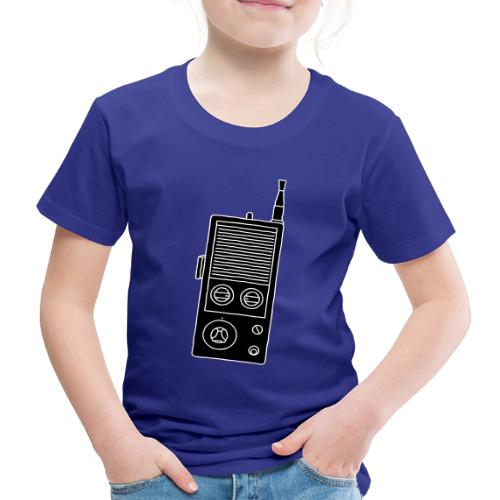Funkgerät Walkie-Talkie 2 - Kinder Premium T-Shirt
