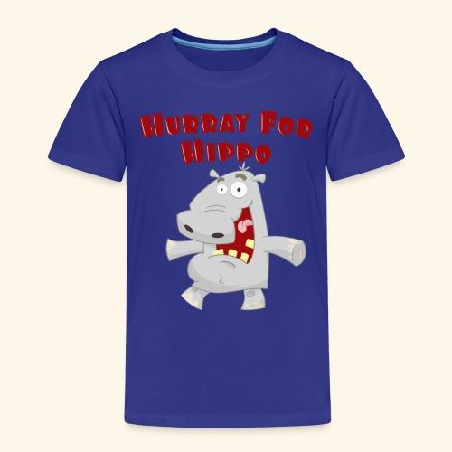 Toddlers & Kids Happy Hippo T Shirt - Kids' Premium T-Shirt