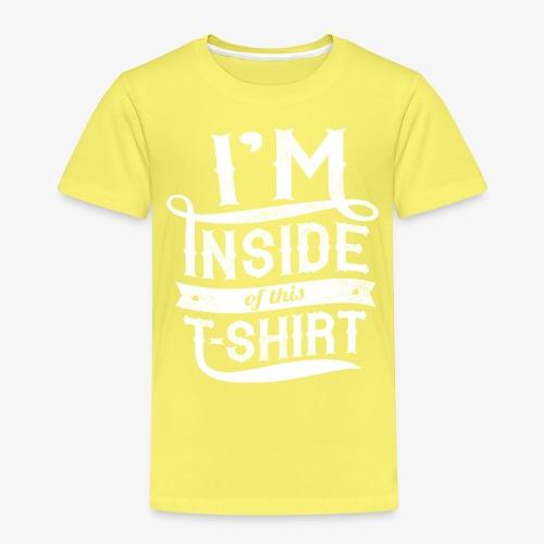 Dans l'intérieur de ce T-shirt - T-shirt Premium Enfant