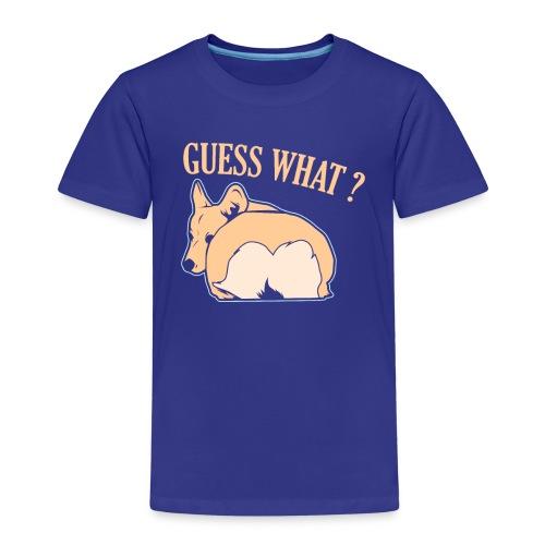 Corgi Hund Spruch Witzig Geschenk - Kinder Premium T-Shirt