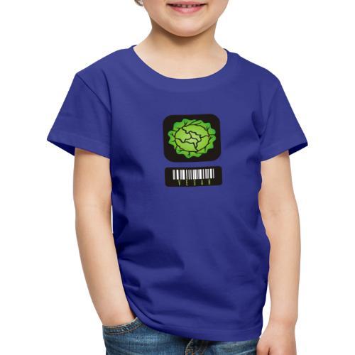 Vegan Barcode - Kids' Premium T-Shirt