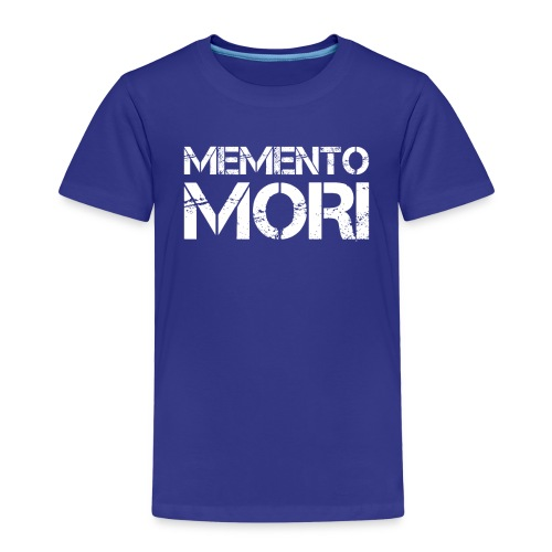 Memento Mori - Lateinischer Spruch - Kinder Premium T-Shirt