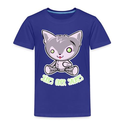 Halloween - Puppe Hund - Süßes oder Saures - Kinder Premium T-Shirt