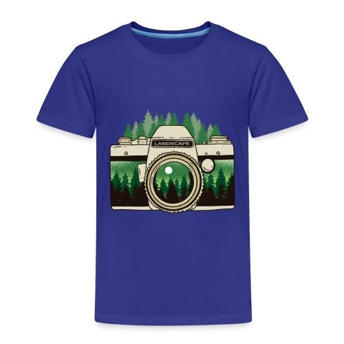 Cámara de Paisaje - Camiseta premium niño