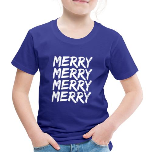 Merry Christmas Weihnachten Geschenk - Kinder Premium T-Shirt