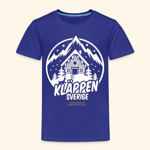 Kläppen Sälen Sverige Ski Resort T Shirt Design - Kinder Premium T-Shirt