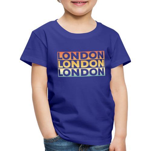 Vintage London Souvenir - Retro SehnsuchtLondon - Kinder Premium T-Shirt
