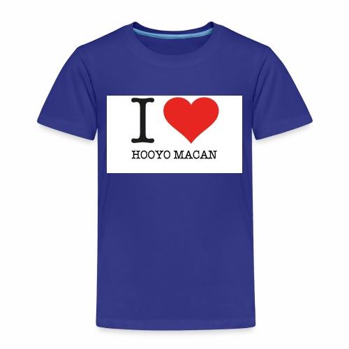I Love My Mum - Premium-T-shirt barn