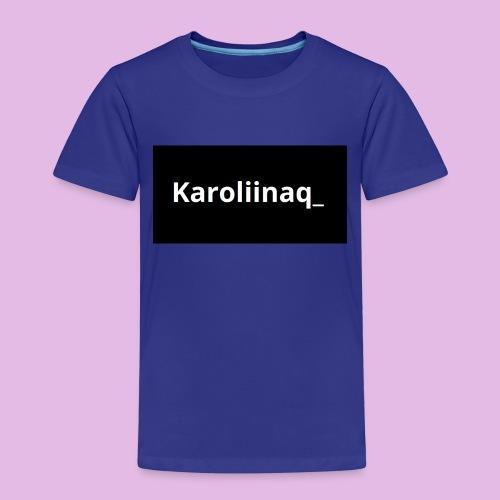 Karoliinaq_ - Lasten premium t-paita