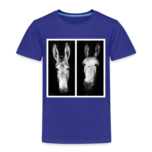 Eselköpfe-Esel - Kinder Premium T-Shirt